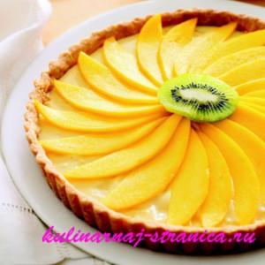 пирог лимонный с фото