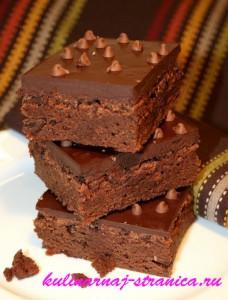 рецепты шоколадных пирожных с фото