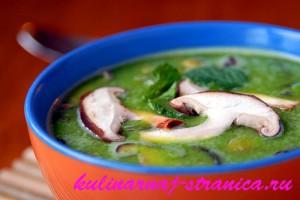 приготовить суп из сушеных грибов