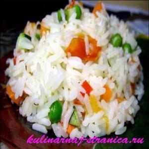 как варить рис для гарнира