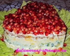 салат с крабовыми палочками фото