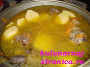 картофельный суп фото
