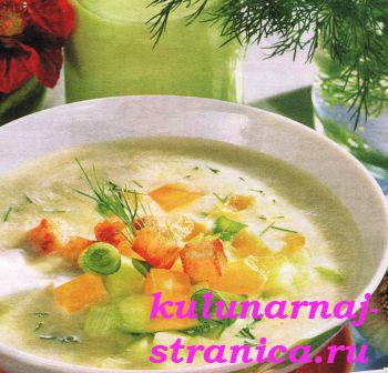 Холодный суп «Таратор»